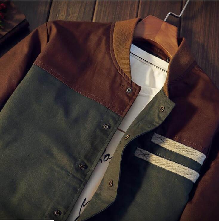 Jaket Baseball / Sweater Pria Cotton Drill Premium - DRB 01